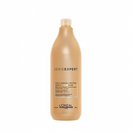 Шампунь L'Oreal Absolut Repair Gold Quinoa+protein  1500 мл