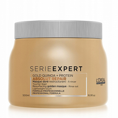 L'Oreal Professionnel Absolut Repair Gold Quinoa + Protein Mask Маска 500мл