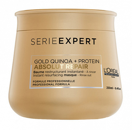 Маска L'Oreal Professionnel Absolut Repair Gold Quinoa + Protein Mask 250 мл